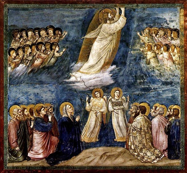 Ascension, 1305-06, Giotto