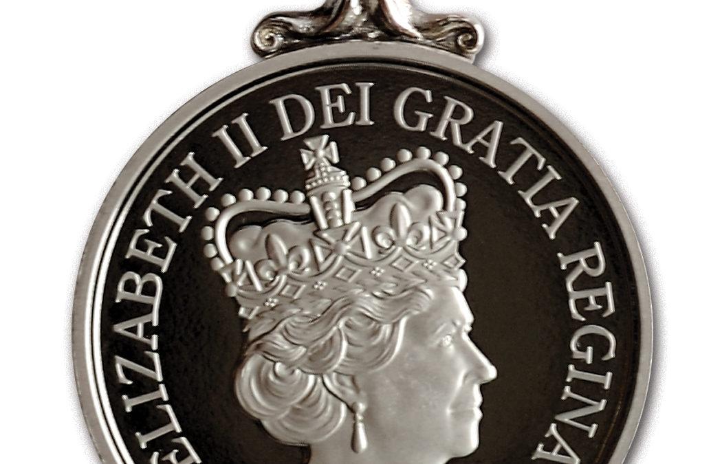Steve Bell Awarded Queen's Diamond Jubilee Medal