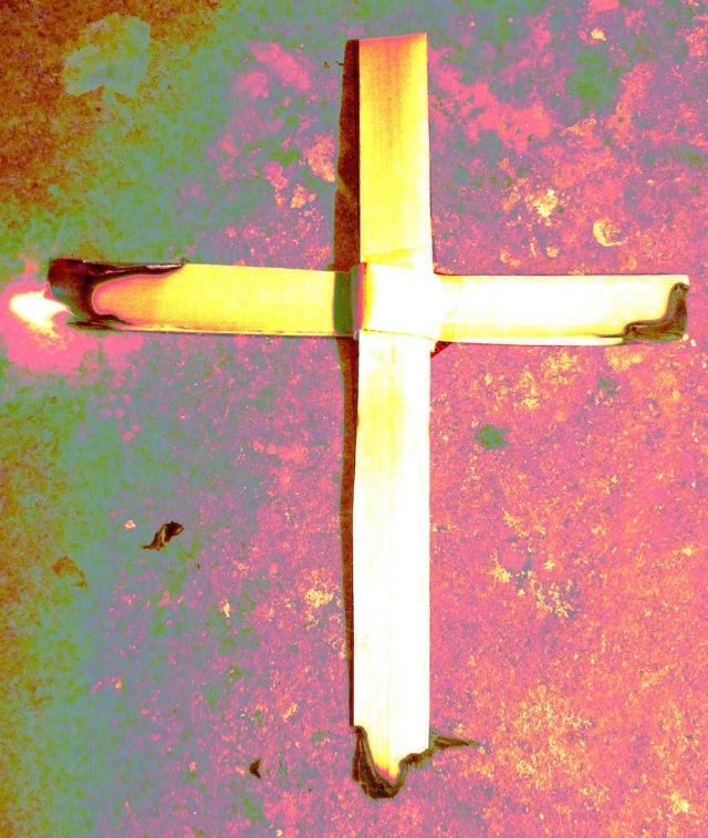 Ash Wednesday Cross