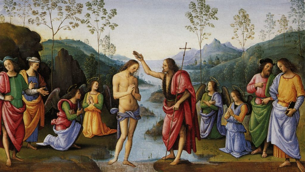 Pietro Perugino, Baptism of Christ