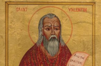 Saint Valentine Icon