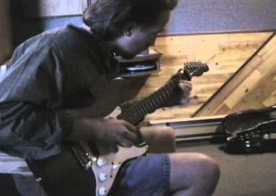 Steve Bell Rare Electric Guitar Solo